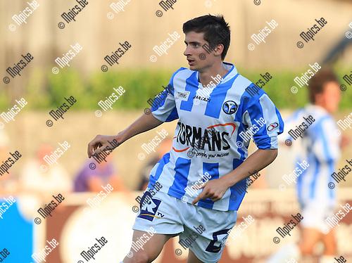 2010-06-22 / Voetbal / seizoen 2010-2011 / Verbroedering Geel-Meerhout / Kevin Janssens..Foto: mpics