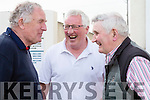 Dr.Con Murphy, Pat Spillane & Mick O'Dwyer share a private joke at the weekend celebrating Micko's 80th birthday.