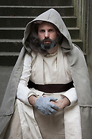 Old Luke Skywalker cosplay, Emerald City Comicon 2016, Seattle, WA, USA.