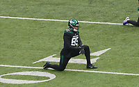 Tight end Trevon Tesco (85) of the New York Jets - 08.12.2019: New York Jets vs. Miami Dolphins, MetLife Stadium New York
