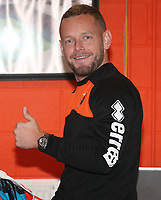 Blackpool's Jay Spearing<br /> <br /> Photographer Rachel Holborn/CameraSport<br /> <br /> The EFL Checkatrade Trophy Group C - Blackpool v Accrington Stanley - Tuesday 13th November 2018 - Bloomfield Road - Blackpool<br />  <br /> World Copyright © 2018 CameraSport. All rights reserved. 43 Linden Ave. Countesthorpe. Leicester. England. LE8 5PG - Tel: +44 (0) 116 277 4147 - admin@camerasport.com - www.camerasport.com