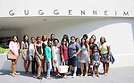 scholars at Guggenheim Museum - NYC - The Soledad O'Brien & Brad Raymond Starfish Foundation schollars from all over the ccountry gathered in New York City (Photo by Sue Coflin/Max Photos)