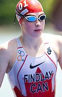 05 JUN 2011 - MADRID, ESP - Paula Findlay - Madrid round of the women's ITU World Championship series .(PHOTO (C) NIGEL FARROW)