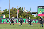 DENTON TX - MAY 4:  in Denton on May 4, 2019 Mean Green Softball v Middle Tennessee at Lovelace Field  in Denton, Texas. (Photo by Rick Yeatts)