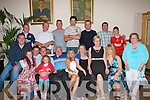 SURPRISE SURPRISE: Dick Donnelly, Kerins Park got a big surprise when family and friends got together to throw him surprise party at the Kerins O'Rahilly clubhouse on Saturday seated l-r: Jason, Zoe, Richard, Anthony, Cloagh, Dick, Geraldine and Caroline Donnelly, Ann McAvoy, Martina Donnelly, Breda O'Sullivan and Kevin Donnelly. Back l-r: Owen Mahony, Jimmy and Billy Donnelly, Dermot Moriarty, Darren O'Sullivan and Kevin and Mitchel Donnelly.   Copyright Kerry's Eye 2008