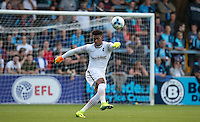 Chelsea Loanee Goalkeeper Jamal Blackman of Wycombe Wanderers during the Sky Bet League 2 match between Wycombe Wanderers and Accrington Stanley at Adams Park, High Wycombe, England on 16 August 2016. Photo by Andy Rowland.