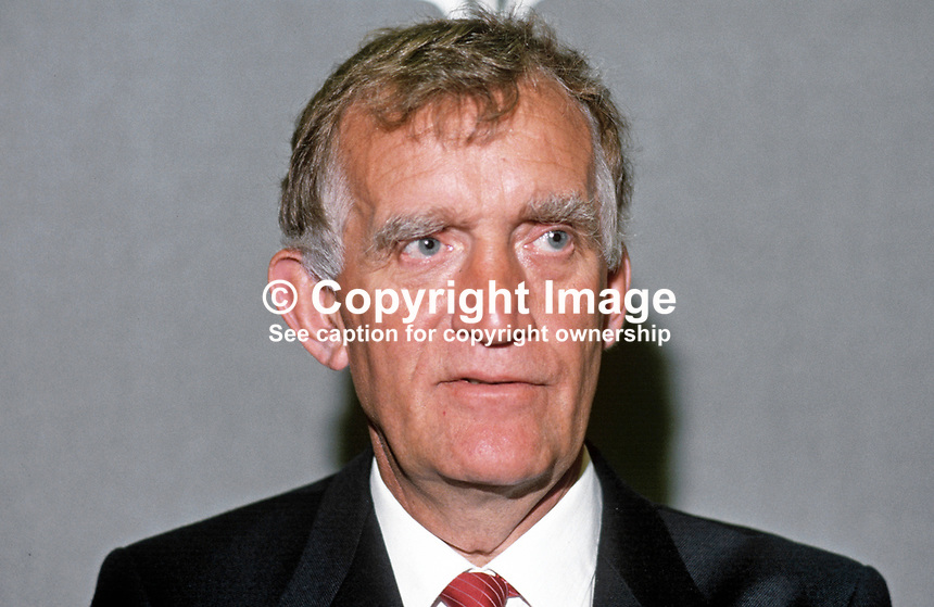 John Maxton, MP, Labour Party, UK, 19870920JM.<br />