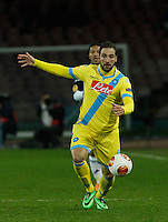 Gonzalo Higuain <br /> <br />  UEFA Europa League round of 32 second  leg match, betweenAC  Napoli  and Swansea City   at San Paolo stadium in Naples, Feburary 27 , 2014
