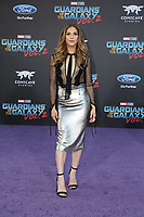 19 April 2017 - Hollywood, California - Allison Holker. Premiere Of Disney And Marvel's &quot;Guardians Of The Galaxy Vol. 2&quot; held at Dolby Theatre. <br /> CAP/ADM/PMA<br /> &copy;PMA/ADM/Capital Pictures