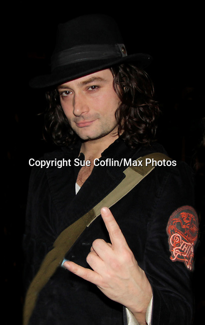 Broadway's Rock of Ages starring Bold and The Beautiful Constantine Maroulis at the Helen Hayes Theatre, NYC, NY on December 17, 2014 while attending The Jane Elissa Extravaganza 2014 - 19 years - benefiting the Jane Elissa/Charlotte Meyer Endowment Fund which raises revenue that directly supports the research  of the Leukemia/Lymphoma Society. The grant goes to an individual researcher. (Photo by Sue Coflin/Max Photos)