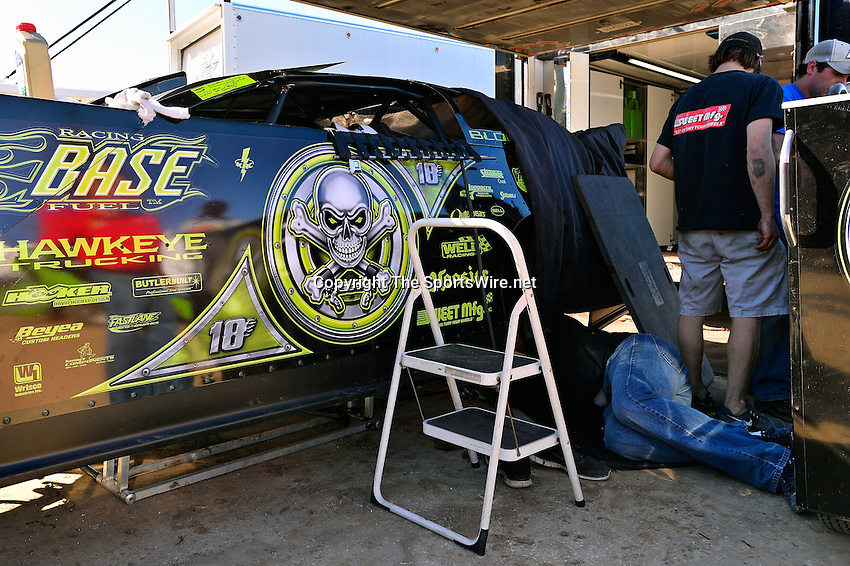 Feb 16, 2014; 3:34:40 PM; Ocala, FL., USA; The Third Annual Bubba Army Winter Nationals World Of Outlaws Super Late Models paying $12,000 to win at Bubba RaceWay Park.  Mandatory Credit: (thesportswire.net)