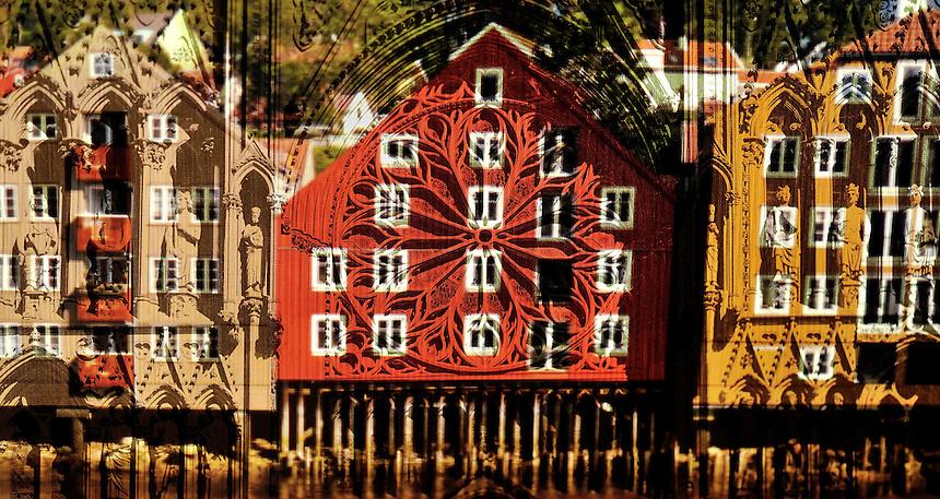 Trondhjemsbilder er ent utvalg kunstfoto hvor ulike kjente bymotiver presenteres på en annerledes måte. Gammelt og nytt, Trondheim er i stadig forandring. Klarer vi å balansere fortida med den moderne byggeskikk? Motivene er ment å være visuelt interessante  og belyse verdiene av det som var og er.