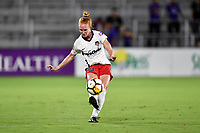 Orlando, FL - Saturday July 07, 2018: Tori Huster during the second half of a regular season National Women's Soccer League (NWSL) match between the Orlando Pride and the Washington Spirit at Orlando City Stadium. Orlando defeated Washington 2-1.
