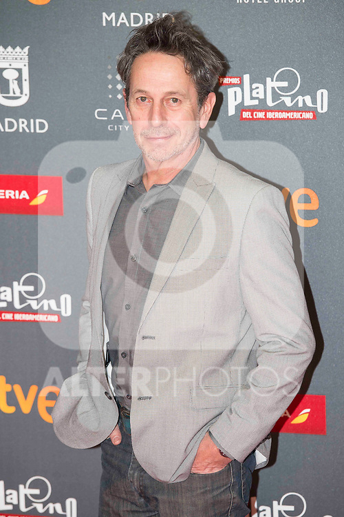 Alfredo Castro attends to welcome party photocall of Platino Awards 2017 at Callao Cinemas in Madrid, July 20, 2017. Spain.<br /> (ALTERPHOTOS/BorjaB.Hojas)