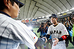 (L-R)  Hiroki Kokubo, Tetsuto Yamada (JPN), <br /> MARCH 14, 2017 - WBC : 2017 World Baseball Classic Second Round Pool E Game between Japan 8-5 Cuba at Tokyo Dome in Tokyo, Japan. <br /> (Photo by Sho Tamura/AFLO SPORT)