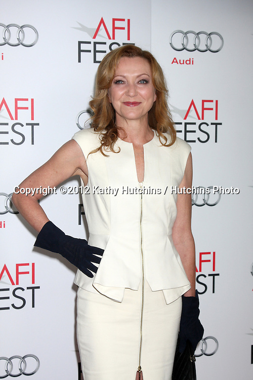 "LOS ANGELES - NOV 8:  Julie White arrives at the ""Lincoln"" Premiere at the AFI Fest at Graumans Chinese Theater on November 8, 2012 in Los Angeles, CA"