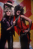 ROBBIN CROSBY AND NIKKI SIXX (1984)