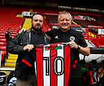 with Chris Wilder manager of Sheffield Utd during the Championship League match at Bramall Lane Stadium, Sheffield. Picture date 19th August 2017. Picture credit should read: Simon Bellis/Sportimage