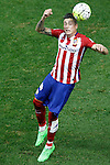 Atletico de Madrid's Jose Maria Gimenez during La Liga match. October 4,2015. (ALTERPHOTOS/Acero)