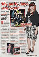 Scissor Sister, Ana Matronic, Star magazine  21 September 2015  p35  45465  CAP/DVS