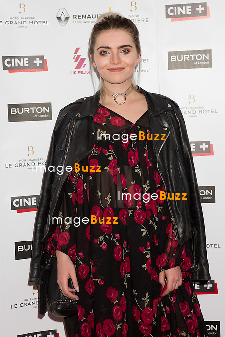 Tara Lee lors de la soir&eacute;e d'ouverture du 27&egrave;me Festival du film britannique de Dinard. <br /> France, Dinard, 29 septembre 2016.<br /> Opening night of 27th Edition of the Dinard British Film Festival.<br /> France, Dinard, 29 September 2016.