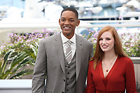 WILL SMITH AND JESSICA CHASTAIN - PHOTOCALL OF JURY AT THE 70TH FESTIVAL OF CANNES 2017