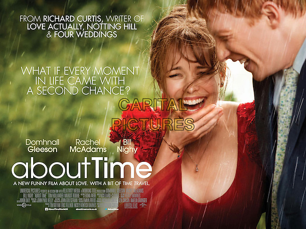 BRITISH POSTER ART<br /> in About Time (2013) <br /> *Filmstill - Editorial Use Only*<br /> CAP/FB<br /> Image supplied by Capital Pictures