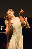 23/03/2015. London, England. Performance of No Man's Land by the 2014 joint winners Alison McWhinney and Junor Souza. English National Ballet's Emerging Dancer 2015 finals at Queen Elizabeth Hall, Southbank Centre, London. Photo credit: Bettina Strenske