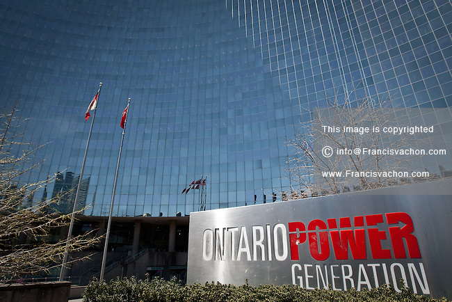 Ontario Power Generation headquarters is seen in Toronto April 19, 2010. Ontario Power Generation (OPG) is a public company wholly owned by the Government of Ontario responsible for approximately 70% of the electricity generation in the Province of Ontario, Canada.
