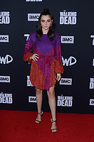 Alexa Nisenson<br /> at The Walking Dead Season 10 Premiere Event, TCL Chinese Theater, Hollywood, CA 09-23-19<br /> David Edwards/DailyCeleb.com 818-249-4998