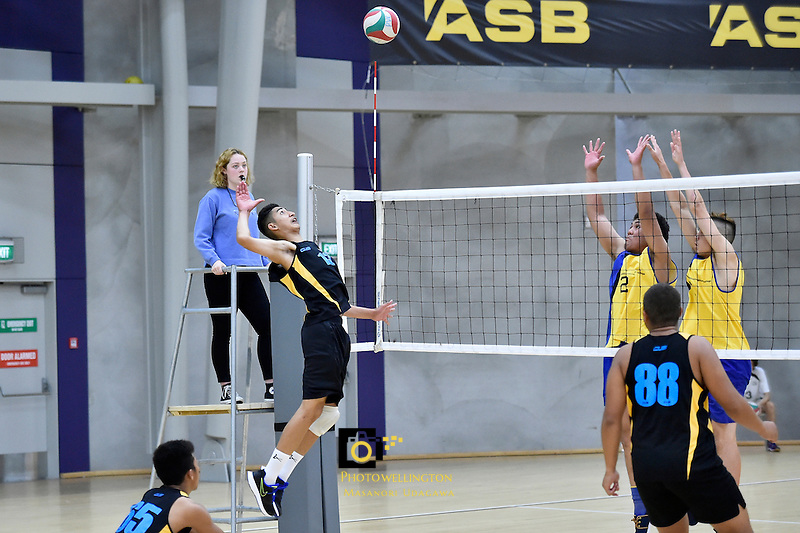 Volleyball - CSW Senior Champs at ASB Sport Centre, Wellington, New Zealand on Friday 11 March 2016. <br /> Photo by Masanori Udagawa. <br /> www.photowellington.photoshelter.com.
