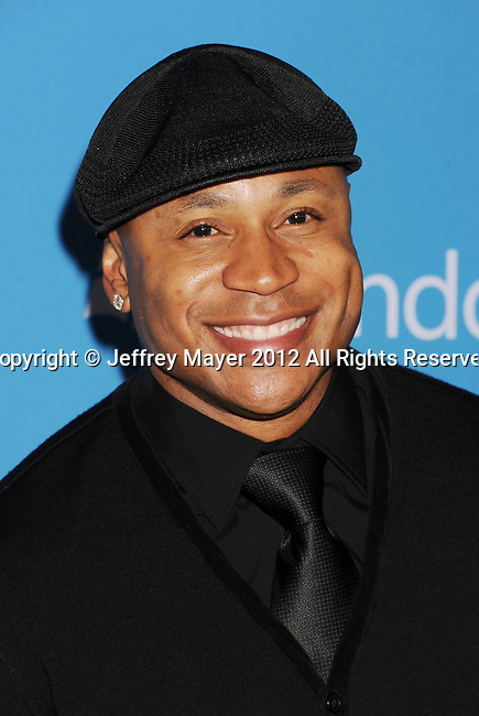 WEST HOLLYWOOD, CA - SEPTEMBER 18: LL Cool J arrives at the CBS 2012 fall premiere party at Greystone Manor Supperclub on September 18, 2012 in West Hollywood, California.
