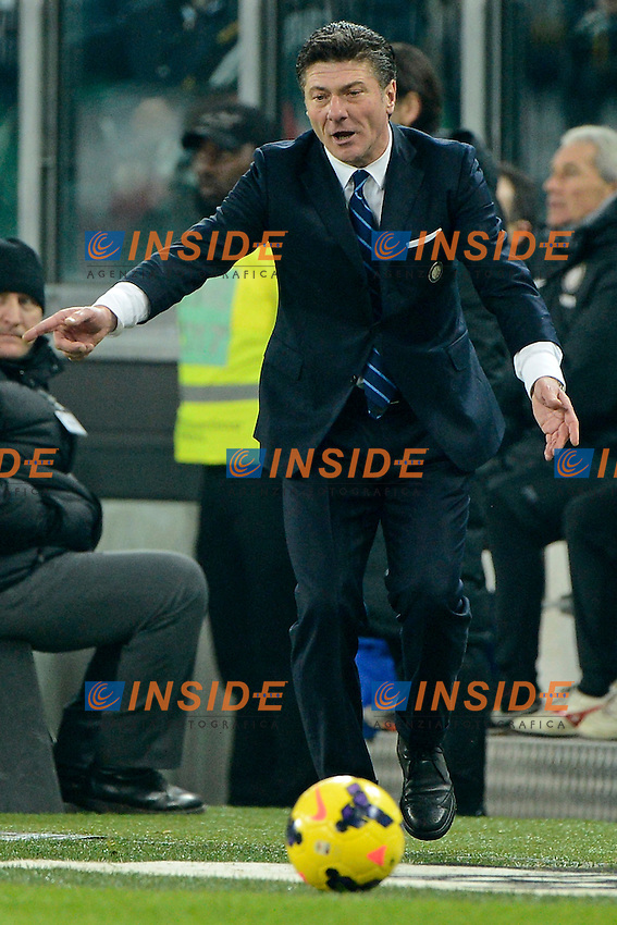 Walter Mazzarri Inter<br /> Torino 02-02-2014 Juventus Stadium - Football 2013/2014 Serie A. Juventus - Inter Foto Giuseppe Celeste / Insidefoto