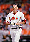 16 May 2007: Washington Nationals left fielder Ryan Langerhans in action against the Atlanta Braves at RFK Stadium in Washington, DC. The Nationals rallied to defeat the Braves 6-4 to take a 2-1 lead in their four-game series...Mandatory Photo Credit: Ed Wolfstein Photo