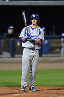 Indiana State Sycamores infielder Hunter Owen (11) at bat during a game against the Vanderbilt Commodores on February 20, 2015 at Charlotte Sports Park in Port Charlotte, Florida.  Vanderbilt defeated Indiana State 3-2.  (Mike Janes/Four Seam Images)