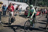 Rigoberto Uran (COL/Cannondale-Drapac)wrapped up for the descent<br /> <br /> 104th Tour de France 2017<br /> Stage 5 - Vittel › La Planche des Belles Filles (160km)