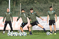4th November 2019; Castelvolturno training center , Campania, Italy; UEFA Champions League Group Stage Football, Napoli versus Red Bull Salzburg, Napoli Training:Fabian Ruiz of Naples - Editorial Use