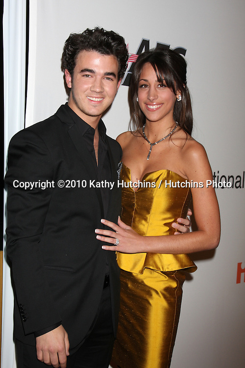 Kevin & Danielle Jonas.arriving at the Clive Davis Pre-Grammy Party .Beverly Hilton Hotel.Beverly Hills, CA.January 30, 2010.©2010 Kathy Hutchins / Hutchins Photo....