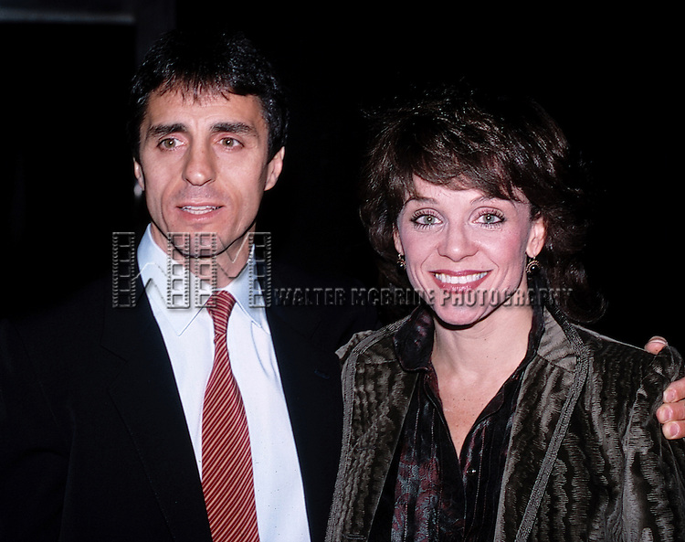 Valerie Harper with her husband Tony.Attending a Benefit Party at Studio 54 in New York City..December 1982.