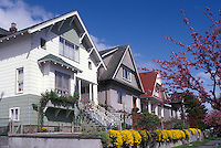 Typical house in the Commercial Drive neighbourhood in East Vancouver, British Columbia, Canada
