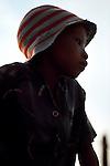 San Bushman  boy in Tchumkwe, Bushman land, Namibia