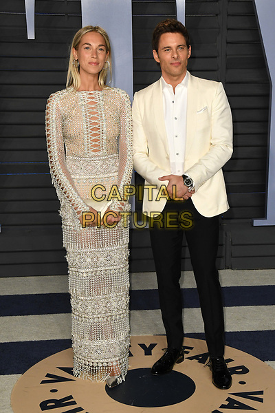 04 March 2018 - Los Angeles, California - Edei, James Marsden. 2018 Vanity Fair Oscar Party following the 90th Academy Awards held at the Wallis Annenberg Center for the Performing Arts. <br /> CAP/ADM/BT<br /> &copy;BT/ADM/Capital Pictures