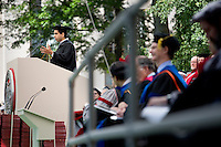 Sal Khan, founder of the Khan Academy online education website, speaks at the 2012 MIT Commencement on June 8, 2012, in Cambridge, Massachusetts, USA...Photo by M. Scott Brauer