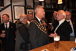 The annual election of the new Portreeve of Laugharne, Carmarthen, Wales on the first Monday following Michaelmas. 2019. Takes place in the Big Court of the town hall. In 2019 David Lynn Jones became the Portreeve. David Lynn Jones and Aldermen in the bar of Browns Hotel.