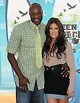 Lamar Odom & Khloe Kardashian at Fox Teen Choice 2010 Awards held at he Universal Ampitheatre in Universal City, California on August 08,2010                                                                                      Copyright 2010 © DVS / RockinExposures
