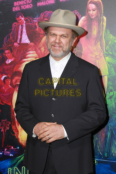 HOLLYWOOD, CA - DECEMBER 10: John C. Reilly at the Inherent Vice Premiere at the TCL Chinese Theater in Hollywood, CA on December 10, 2014.  <br /> CAP/MPI/DC/DE<br /> &copy;DE/DC/MPI/Capital Pictures