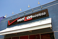 Verizon Wireless, Store, Cell phones, iPhones, smart phone, Burbank, CA, Shopping Mall, Stock Photos, Pictures, Images, Photographs