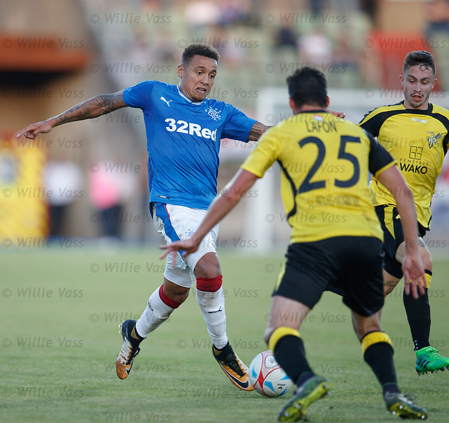 James Tavernier on the attack