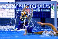 1 ITA GORLERO Giulia Italy <br /> Budapest 12/01/2020 Duna Arena <br /> GERMANY (white caps) Vs. ITALY (blue caps)<br /> XXXIV LEN European Water Polo Championships 2020<br /> Photo  © Andrea Staccioli / Deepbluemedia / Insidefoto