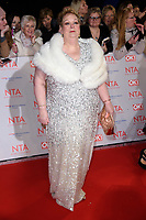 Anne Hegerty at the National Television Awards 2018 at the O2 Arena, Greenwich, London, UK. <br /> 23 January  2018<br /> Picture: Steve Vas/Featureflash/SilverHub 0208 004 5359 sales@silverhubmedia.com